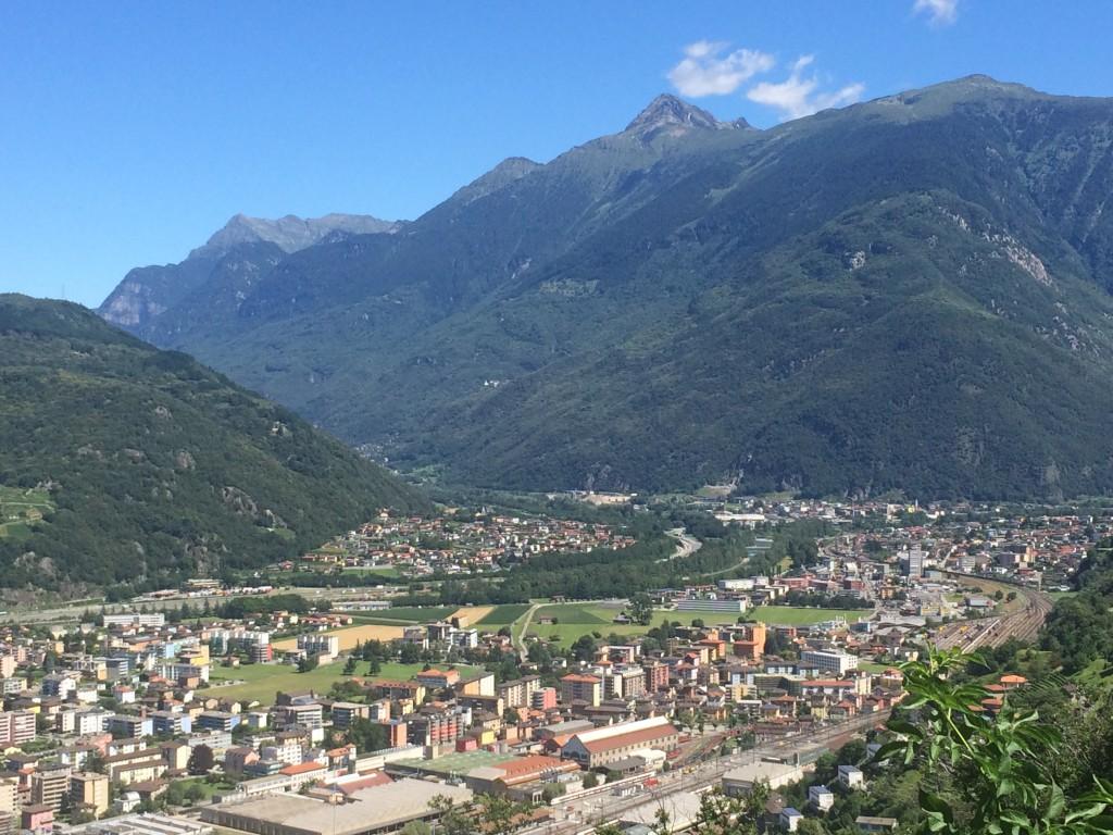 Montebello and Sasso Corbaro Castles Valley of Ticino