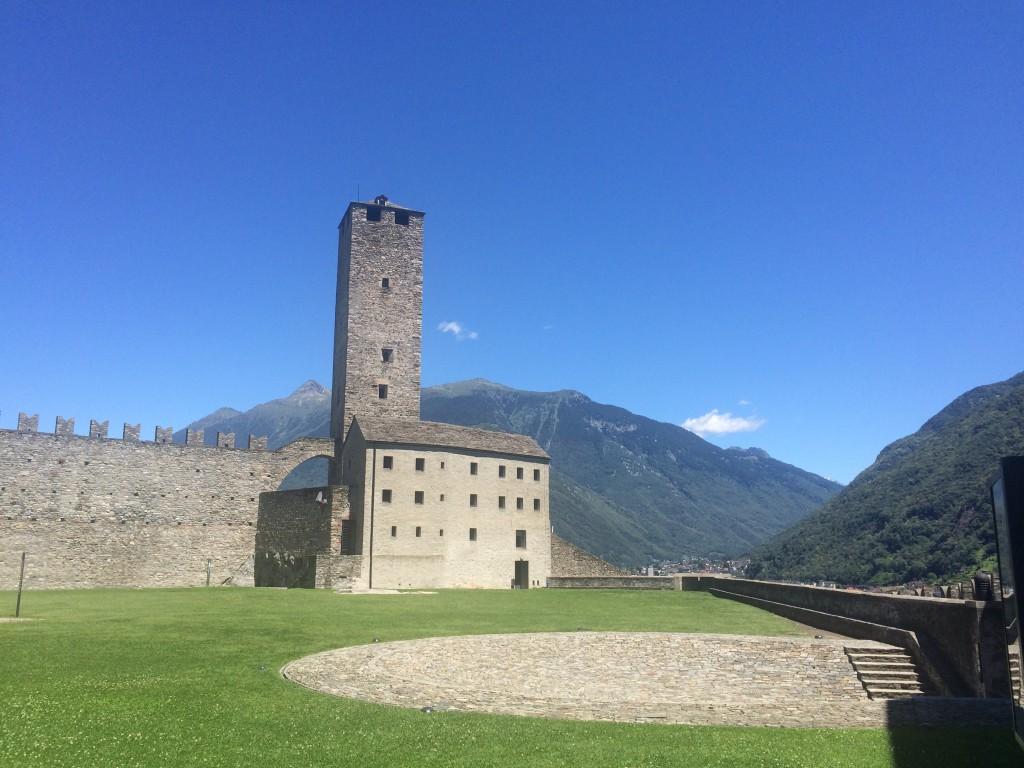 Castle Grande - Castles of Bellinzona
